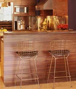 Amazing Fine Mod Imports Bertoia Wire Style Counter Stool Chair Gmtry Best Dining Table And Chair Ideas Images Gmtryco