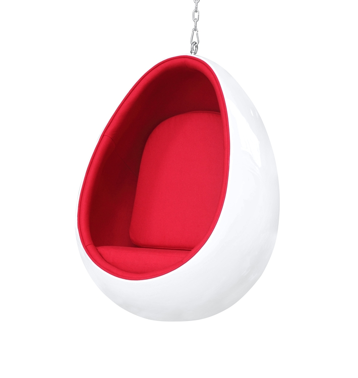 Swing Egg Stoel.Arne Jacobsen Egg Chair