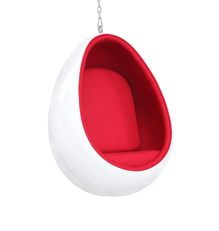 fiberglass chair internal s new modern image eggchair black brand is egg loading white itm home office