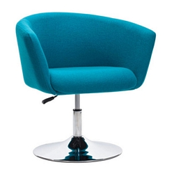 Zuo Modern Umea Arm Chair Island Blue