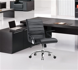 Fine Mod Imports Timeless Office Chair In Black