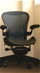 Herman Miller Aeron Chair Size B Fully Featured With Options In Green