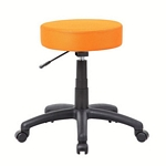 The DOT stool, Orange