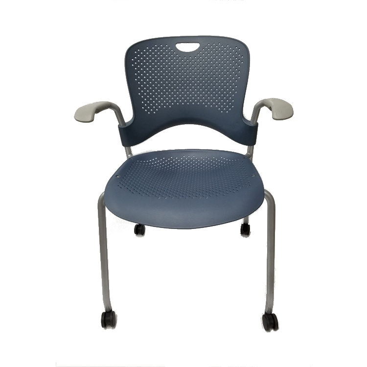 About A Chair 12 Side Chair.Herman Miller Caper Side Chairs With Wheels Set Of 12 Chairs