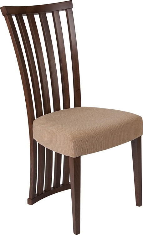 Flash Furniture Medford Walnut Finish Wood Dining Chair With