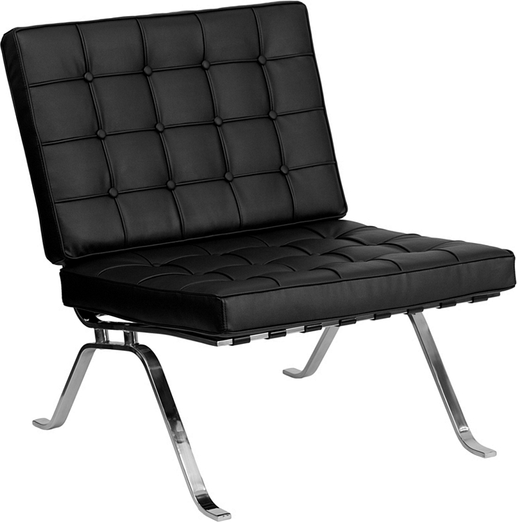 Flash Chair Furniture Legs Leather With Black Lounge Series Curved xBtCoshQrd