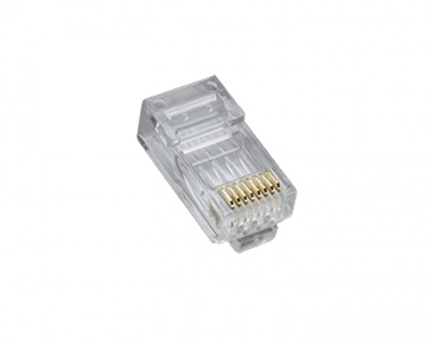 Platinum Tools, 106162, Standard, CAT5e, High Performance, RJ45, Connectors, 25, clamshell,