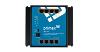 Primex 125-1892 PXU-1G44 8-Port unmanaged Gigabit network switch (hybrid 4 PoE+/4 network)