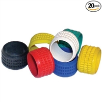Platinum Tools Sealsmart Color Band, Red. 20/Clamshell