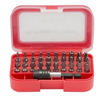 Buy Platinum Tools 19130C 30-Piece Security Bit Set for 8-in-1 Stubby Screwdriver featuring Tamper-Proof Torx Bits, Tamper-Proof Hex Bits Spanner Bits. Review Platinum Tools Security Screwdriver Bit Set, 30-Piece, Steel, Sand Blasted, Includes Torx