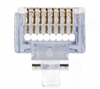 Buy Platinum Tools EZ-RJ45 CAT5/5e Connectors (Boxed, 100) features Terminate Cat 3, 5, and 5e Cables, Pass Thru Hole Design. Review Platinum Tools RJ45 Network & RJ11 Telecom Connectors, Network Cables & Connectors""
