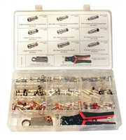 Platinum Tools, 90125, SealSmart, Field Installation Kit, Nickle Plated, Connector,