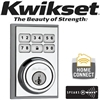 Kwikset, Square, Contemporary, Deadbolt, 99100-012, Satin-Chrome,