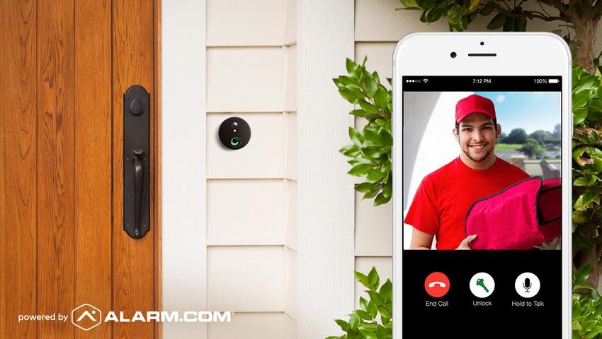 Bronze Slim Skybell for Alarm.com
