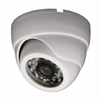 850TVL Pixel Plus Indoor Dome Camera, 4-9mm Lens, DC 12V, White