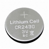 CR2430 3V 280mAh Lithium Coin Battery
