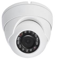 720P HD-CVI Fixed Lens Dome Camera (White)