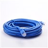 14' Cat 5 Patch Cable, Molded Type, Blue