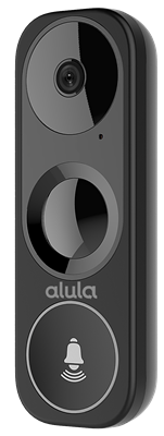 Alula RE703 Video Doorbell Camera 2K HD IP65 Weatherproof Built-in microphone and speaker PIR detection Infrared Night Vision 16GB MicroSD card included