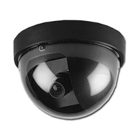 1000TVL Fixed Lens Dome Camera, 3.6mm, Indoor, White