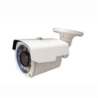 1080P HD-CVI Vari-Focal Lens 5-50mm Bullet Camera (White) 300FT Night Vision