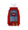 t302C,Platinum Tools, GFCI, Socket Tester, Troubleshoot, 110-125VAC, electric, sockets, faults, cable tools, satellite tools, tech tools, tec, ripley, cable technician, custom tool supply, magnepull, tecra, suunto, cctv, phone, cable installation,