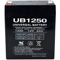 UPG UB1250 Battery - Sealed Lead Acid - 12 Volt - 5 Ah