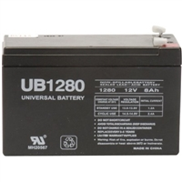 Universal, UB1280, 12 volt, 8 amp, UPGI, UPG, 85986, D5743, Sealed Lead Acid, Battery, alarm system, back up battery,