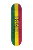 Mini Kicktail Rasta Deck