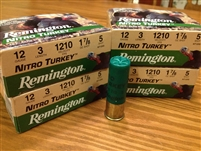 "12 gauge 3"" NitroTurkey #5 shot Remington #40 rounds"