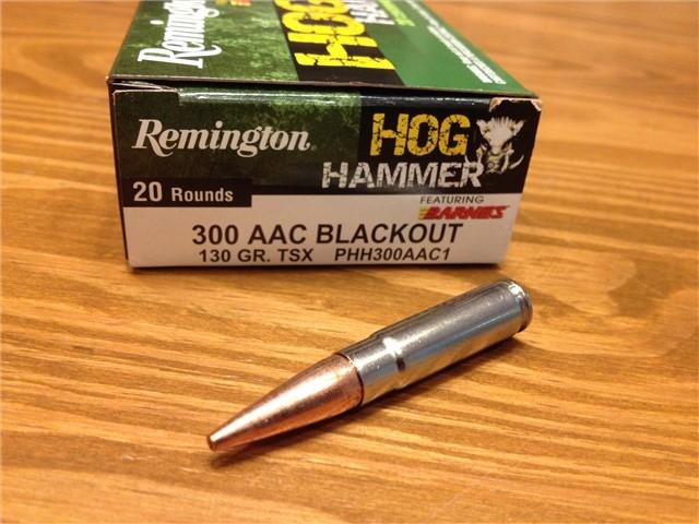 300 Blackout 130gr Lead Free Barnes TSX #20