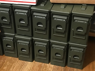 Ammo Cans - 30 Caliber Used Good Condition