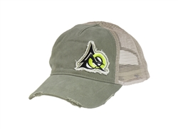ODIN Works Distressed Logo Hat