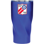 Blue Stainless Steel Travel Mug