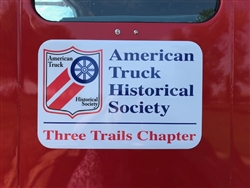 Personalized Chapter Truck Magnet