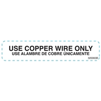 DECAL USE COPPER WIRE ONLY