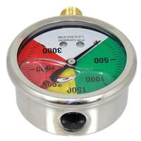 COLOR CODED PRESSURE GAUGE