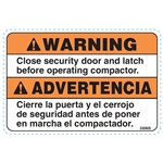 SECURITY DOOR DECAL