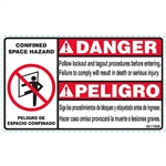 CONFINED SPACE DECAL