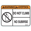 DO NOT CLIMB DECAL