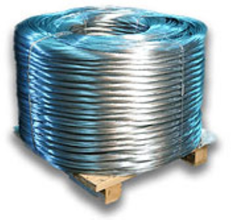 Baling Wire 14 foot long 14 Gauge 250 Piece Galvanized Single Loop ...