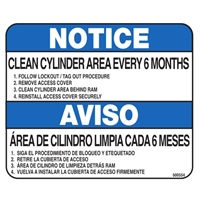 COMPACTOR SAFETY NOTICE DECAL