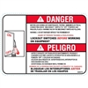 LOCKOUT TAGOUT SAFETY DECAL