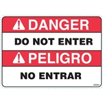 DO NOT ENTER SAFETY DECAL