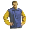 Premium Welding Jacket with Leather Sleeves