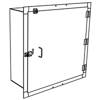 "Security Door - Single Door - Custom Special Order 44""x44"""
