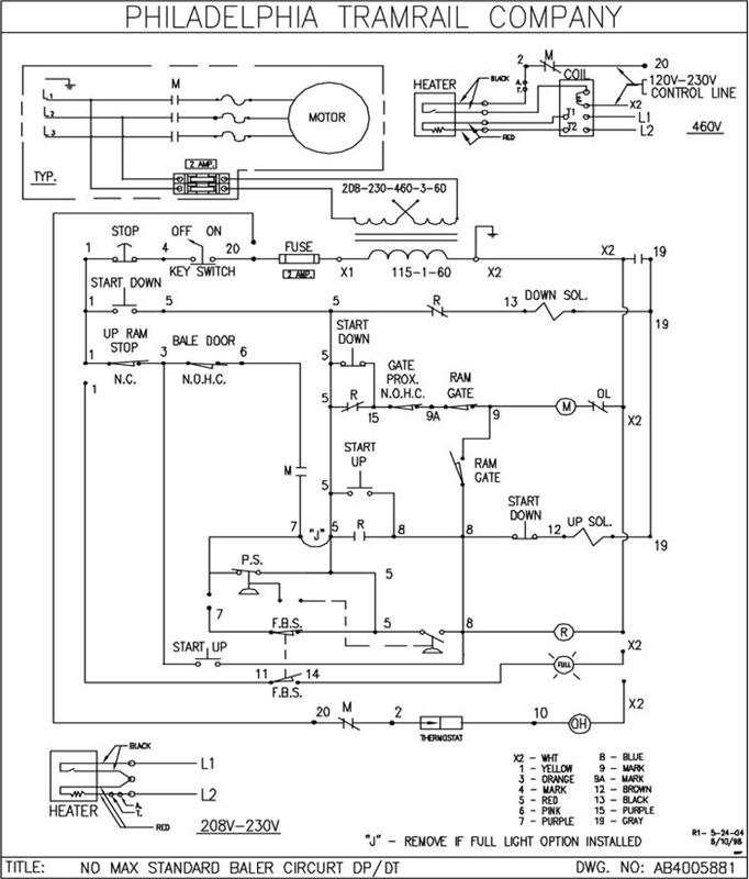 baler schematics  1  2