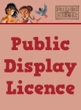 Single Display Licence - No Admission Charge - 1-500 attending