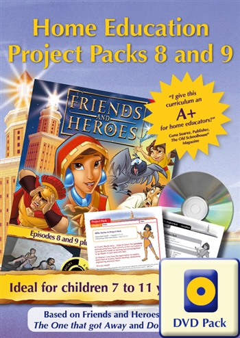 Home Education Project Packs 8 and 9