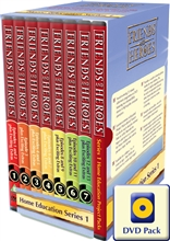 Home Education Project Packs 1-13 DVD